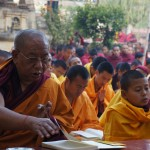 Dec 18, 2012 - Kagyu Monlam in Bodhgaya, India