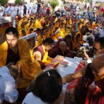 Dec 19, 2012 - Kagyu Monlam in Bodhgaya, India