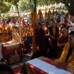 Dec 20, 2012 - Kagyu Monlam in Bodhgaya, India